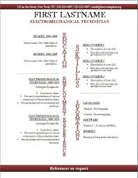 Resume Templates For Openoffice Free Interesting Open Office Resume Template Hyperrevcipo