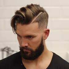 Mens Comb Over Hairstyle Best Medium Length Mens Hairstyles 2017