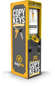Make Vending Machine Key Delectable The KeyMe Kiosk At Lowes Allows You To Securely Store Digital Copies