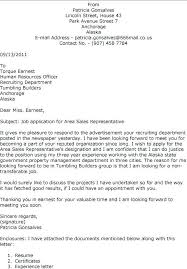 Cover Letter For Medical Representative Cover Letter Sales Rep Cover