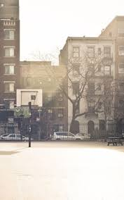 city basketball court android wallpaper