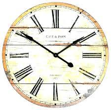 farmhouse clock wall clocks large wonderful oversized round wooden farmho farmhouse clock