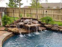 Small Picture The 25 best Pool waterfall ideas on Pinterest Grotto pool
