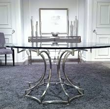 spacious 60 round glass dining table of inch top fiin info home