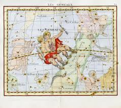 Gemini Fla15 Antique Celestial Maps In 2019 Celestial