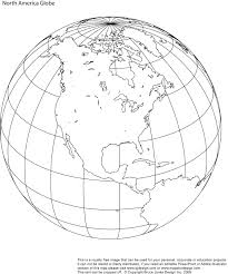 NAmericaGlobeBWPrint printable, blank, world globe earth maps \u2022 royalty free, jpg on printable map of the united states and estern canada