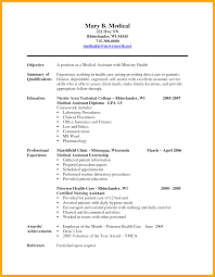 Best Ideas Of Professional Profile For Medical Assistant Resume Best