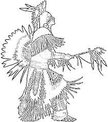 Primary Native American Coloring Pages O3743 Latest Free Printable
