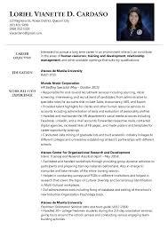 ... Bo Administration Sample Resume 15 Cv Cover Letter Business ...