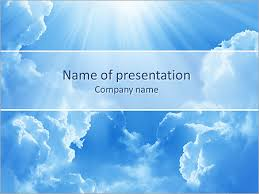 Light In The Sky Powerpoint Template Infographics Slides