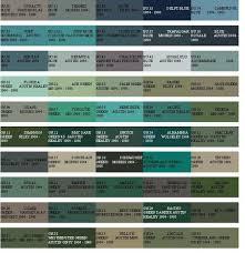 Full Bmc Paint Colours Part 2 Paint Code Paint Colors