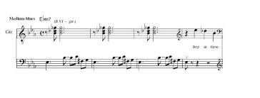 Guitar Solo Chart Custom Musical Transcriptions And Arrangements For Guitar