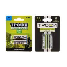<b>Аккумуляторы Трофи</b> HR6 2BL <b>2100mAh</b> купить в Калининграде ...