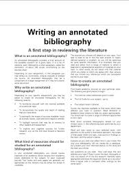 Annotated Bibliography Template Easy Guide To Learn How To Write An Annotated Bibliography