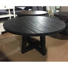54 round solid wood acacia dining set