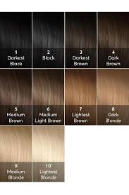 Hair Color Levels Chart In 2019 Brown Hair Shades Brown