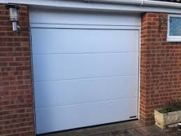 hormann sectional garage door l ribbed style installed in snchurch bucks