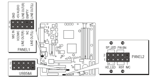 solved front panel connector diagram fixya if you need more information about your motherboard you can always the manual from this link