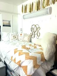 Black Gold Dorm Tours And Bedrooms White Bedroom Decor ...