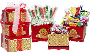 best candy gift bo baskets candy crate candy gingerbread man holiday nostalgic candy gift tower