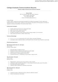 Resume Templates For No Work Experience Arzamas