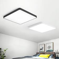 Square Led Ceiling Light Fixture 24w Square Led Ceiling Down White Light Panel Wall Bathroom Lamp Fixture 40 40cm