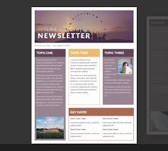 free newsletter templates for word newsletter templates free toptier business