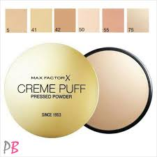 Max Factor Creme Puff Colour Chart Max Factor Creme Puff Pressed Face Powder Compact 21g Various Shades