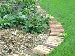 picturesque brick garden edging brick garden edging brick garden edging for around blueberries brick border garden