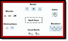 Nautical Chart Numbers Seven Sailing Danger Symbols Every Skipper Needs To Know