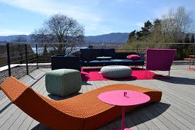 esthec terrace at colombo la famiglia redbox haus in zollikon switzerland design furniture paola lenti ghielmi terrazza