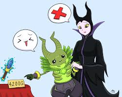 try drawing pugna and maleficent dota2