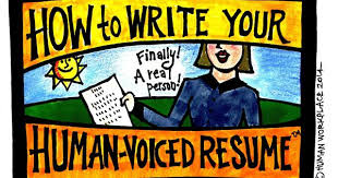 How To Write Your HumanVoiced Resume Cool Human Voiced Resume