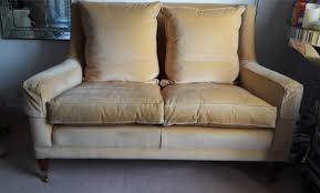 duresta 2 seater love seat sofa