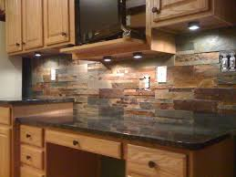 Rock Backsplash Kitchen Kitchen Stone Backsplash Panels For Black Splash Tiles Kitchens