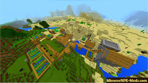 Minecraft Village Seeds Huge Double Village Seed For Minecraft Pe 1 14 0 1 13 0