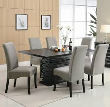 Contemporary Black Dining Room Sets Contemporary Black Dining Table Chairs Dining Room Furniture Set