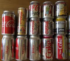 Coca Cola Light Mexico Coleccion 23 Latas Coca Cola Light Ltd Edition Mexico Y Usa 399 00