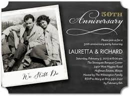 50th Anniversary Party Invitations 32 Best Wedding Anniversary Party Invitations Personalized
