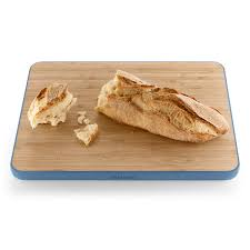 cutting board with food. Eva Solo - Chopping Board Moonlight Blue, With Baguette Cutting Food