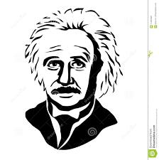 Albert Einsteinvector Portrait Of Albert Einstein Editorial