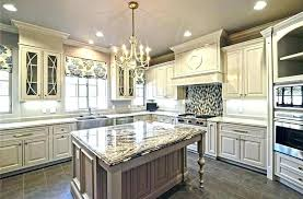 luxury kitchen cabinets. Luxury White Kitchen For Cabinets Traditional With Antique Chandelier Granite O