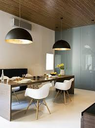 contemporary large pendant lights in the dining room modern pendant lamps