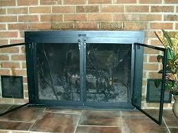 replacement fireplace doors fireplace glass doors replacement fireplace screen replacement how to replace fireplace doors glass