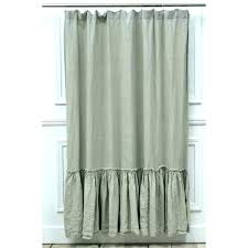white ruffle curtains gray ruffle shower curtain tan ruffle shower curtain image of vintage ruffle curtains white ruffle curtains