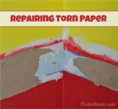 drywall repairing torn paper fer