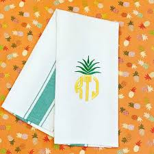 kitchen towel embroidery designs. pineapple embroidery frame. embroiderydish towelskitchen kitchen towel designs c