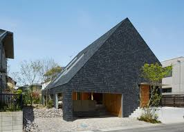 suppose design office toshiyuki. Japanese Family Home Features A Sheltered Exterior Garden By Suppose Design Office Toshiyuki