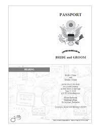 Passport Invitation Template - pre-designed | passport ideas ...