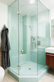 tile interiors bathroom eclectic with clear glass shower door light wood bathroom vanities with tops